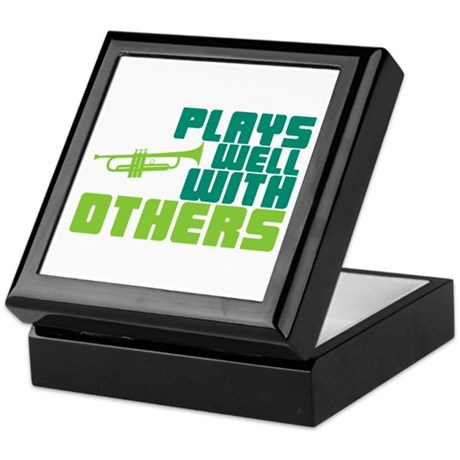 Plays Well with Others Keepsake Box