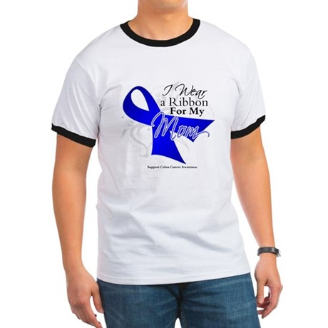 Mom Colon Cancer Ringer T