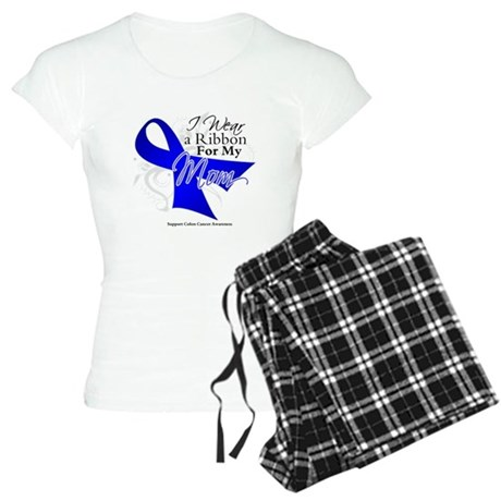 Mom Colon Cancer Women's Light Pajamas