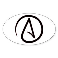 Atheist Symbol Decal