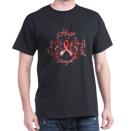 Aplastic Anemia Hope Faith Dark T-Shirt