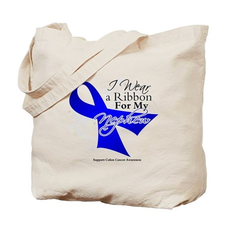 Nephew Colon Cancer Tote Bag