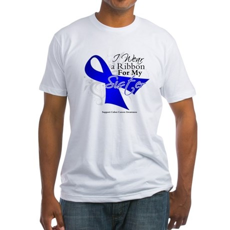 Sister Colon Cancer Fitted T-Shirt