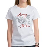 Army Mom poem in words Tee
