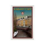 Winter in Karlovy Vary Rectangle Magnet (10 pack)