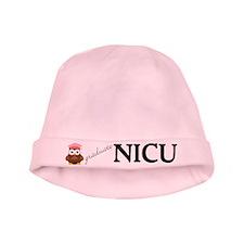 NICU Graduate Pink Baby Girl Beanie Hat
