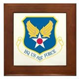 HQ US Air Force Framed Tile