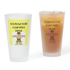 acupuncture Drinking Glass