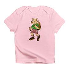 Hiking Dog Infant T-Shirt
