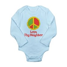 Love Thy Neighbor Onesie Romper Suit