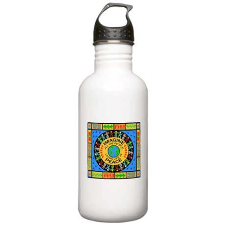 World Peace Stainless Water Bottle 1.0L