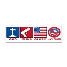 Anti Obama 2012 Car Magnet 10 x 3