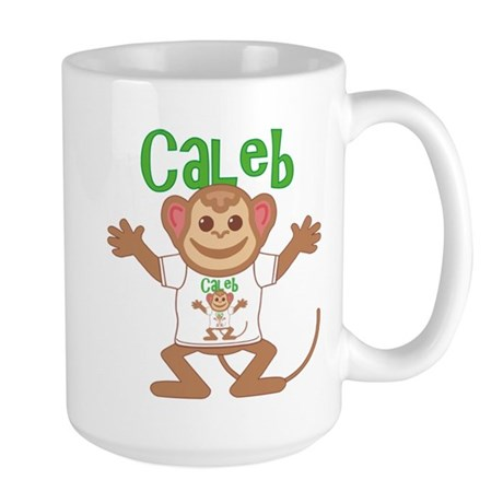 Little Monkey Caleb Large Mug