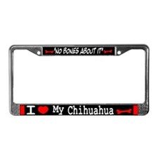Chihuahua Gifts License Plate Frame
