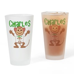 Little Monkey Charles Drinking Glass