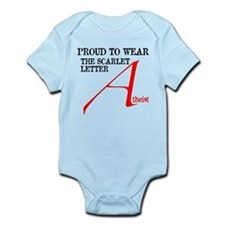 Scarlet Letter Atheist Infant Bodysuit