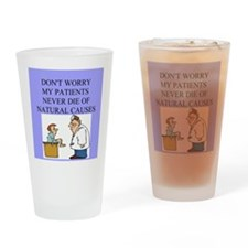 doctor jokes Drinking Glass