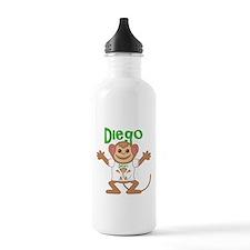 Little Monkey Diego Water Bottle