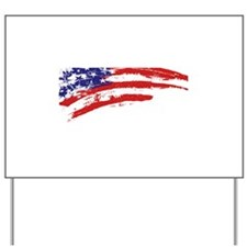 America Flag Yard Sign