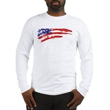 America Flag Long Sleeve T-Shirt