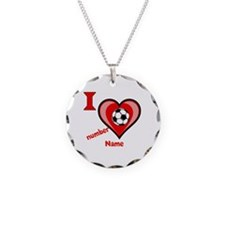 Customizable Soccer Love Necklace