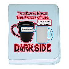 Dark Side baby blanket