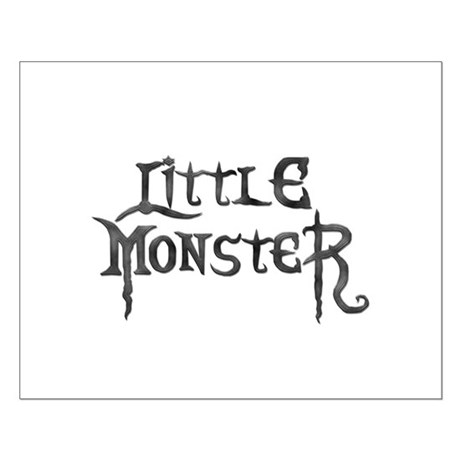 Little Monster Small Poster