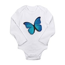Blue Morpho Butterfly Baby Suit