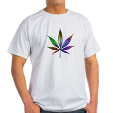 Psychadelic Pot Leaf T-Shirt