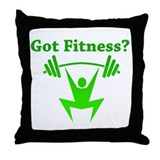 Got Fitness? Throw Pillow