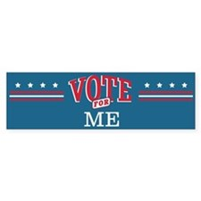 Vote for 1_Bumper Bumper Bumper Sticker