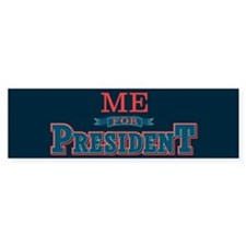 For Pres2_bumpersticker Bumper Car Sticker