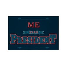 Cute President Rectangle Magnet