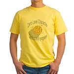 "d20 ""0 level character generation"" Yellow T-Shirt"