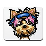 Yorkie Rocker Mousepad