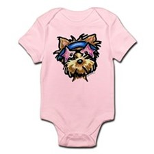 Yorkie Rocker Infant Bodysuit
