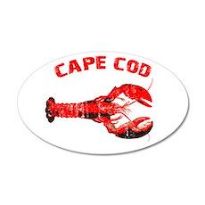 Cape Cod Lobster 22x14 Oval Wall Peel