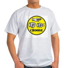 RPS: CHOOSE Ash Grey T-Shirt