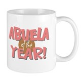 Abuela of the Year Mug