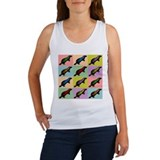 Honey Badger Pop Art Women's Tank Top