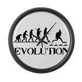 Scuba Evolution Large Wall Clock