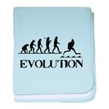 Scuba Evolution baby blanket