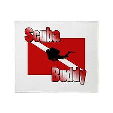 Scuba Buddy Throw Blanket