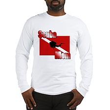 Scuba Mom Long Sleeve T-Shirt