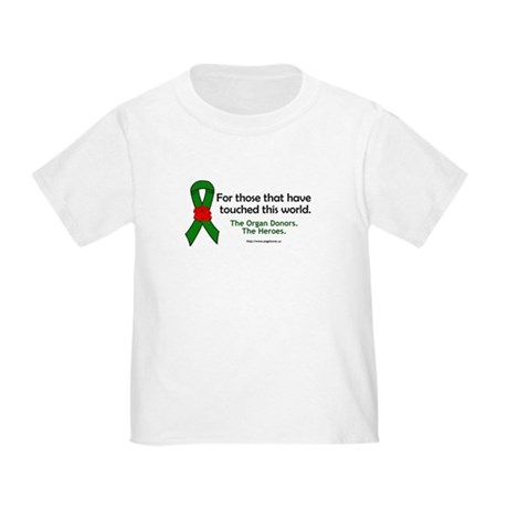 Organ Donor Heroes Toddler T-Shirt