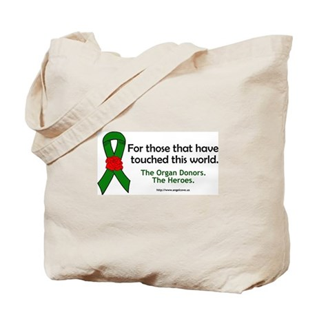 Organ Donor Heroes Tote Bag
