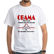 Obama's Bump in the Road Economic PlaShirt