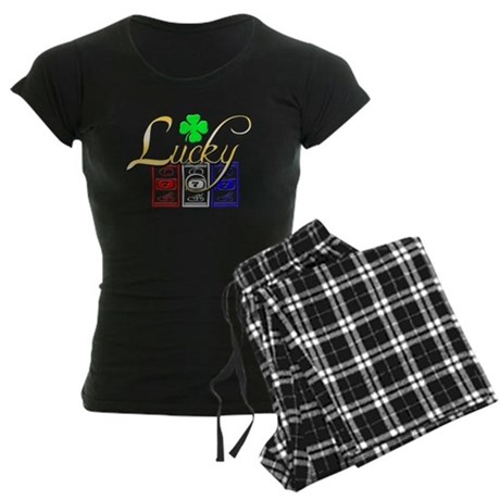 Lucky Winner Women's Dark Pajamas