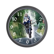 Motorcycle Clocks Wall Clock