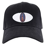 12 Lady of Guadalupe Black Cap